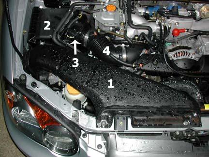 2003 subaru impreza rs cold air intake